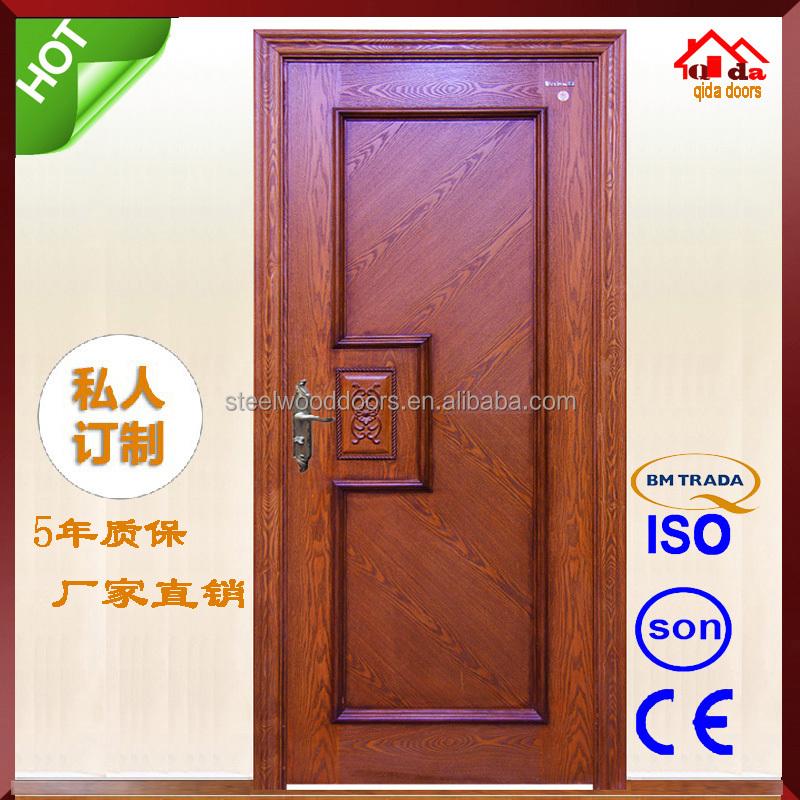 Luxury Modern Wooden Front Double Bedroom Door Design, View double ...