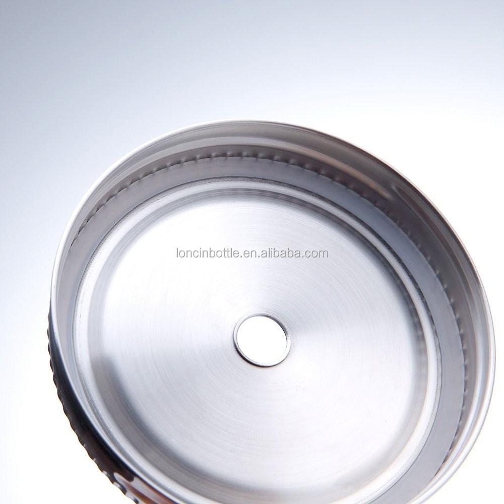 16 unzen kunststoff maurer glas mit metall deckel und strohhalm 20 unzen klarglas trinkbecher. Black Bedroom Furniture Sets. Home Design Ideas