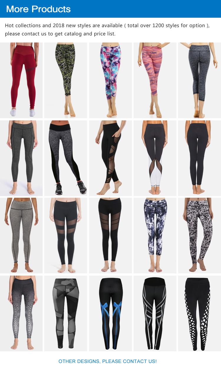 516ffef551f59 En gros personnalisé sexy noir taille haute sport fitness camel toe filles  leggings pantalons de yoga