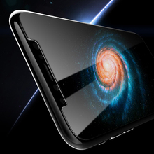 buff ultimate tempered glass cell phone in base silicone screen protector for iphone X