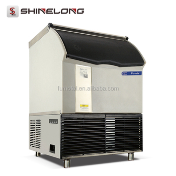 Combination Model Ice Cube Machine Heavy Duty Design Ice Block Machine