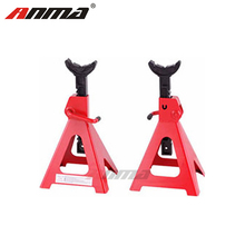 ANMA Big Red Steel Jack Stands SUV Extended Height 3 Ton Capacity