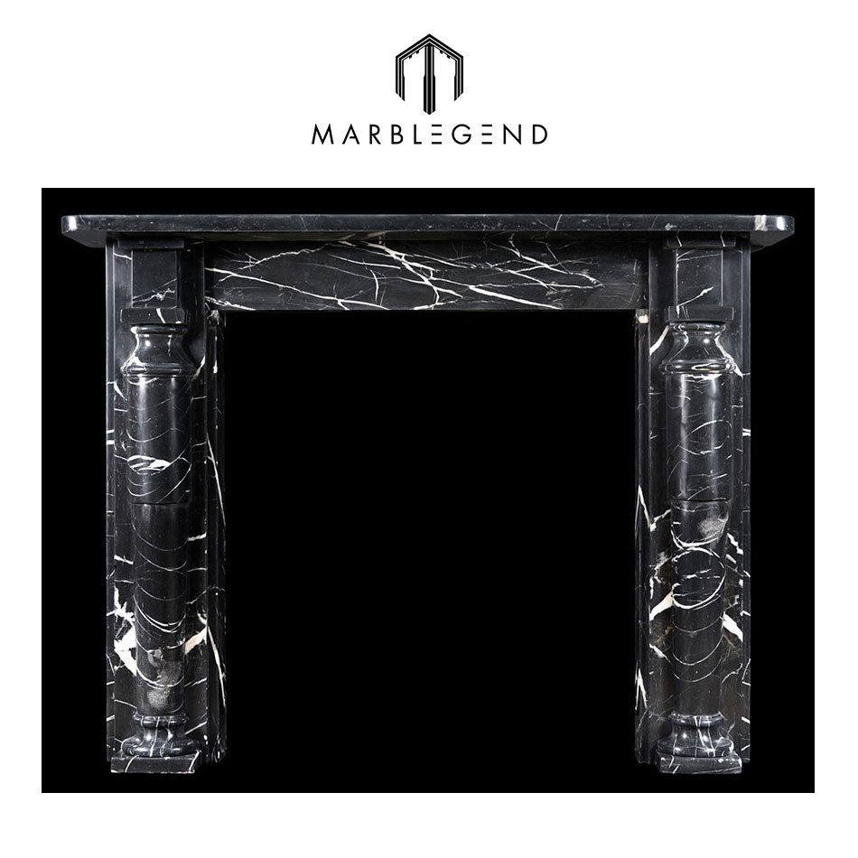 black stone fireplace mantel black stone fireplace mantel suppliers and manufacturers at alibabacom - Black Fireplace Mantels