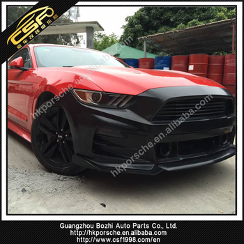 Sprightly Body Kit For Ford Mustang 2015-2017 Roush Front Bumper In Pp  Material - Buy Body Kit For Mustang,Mustang Front Bumper Pp Material,Pp