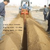 Agriculture digging chain trencher tractor sale / mini trencher
