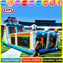ZZPL All-Star inflatable obstacle/assault courses for sale Outdoor inflatable obstacle course bounce house/jumper