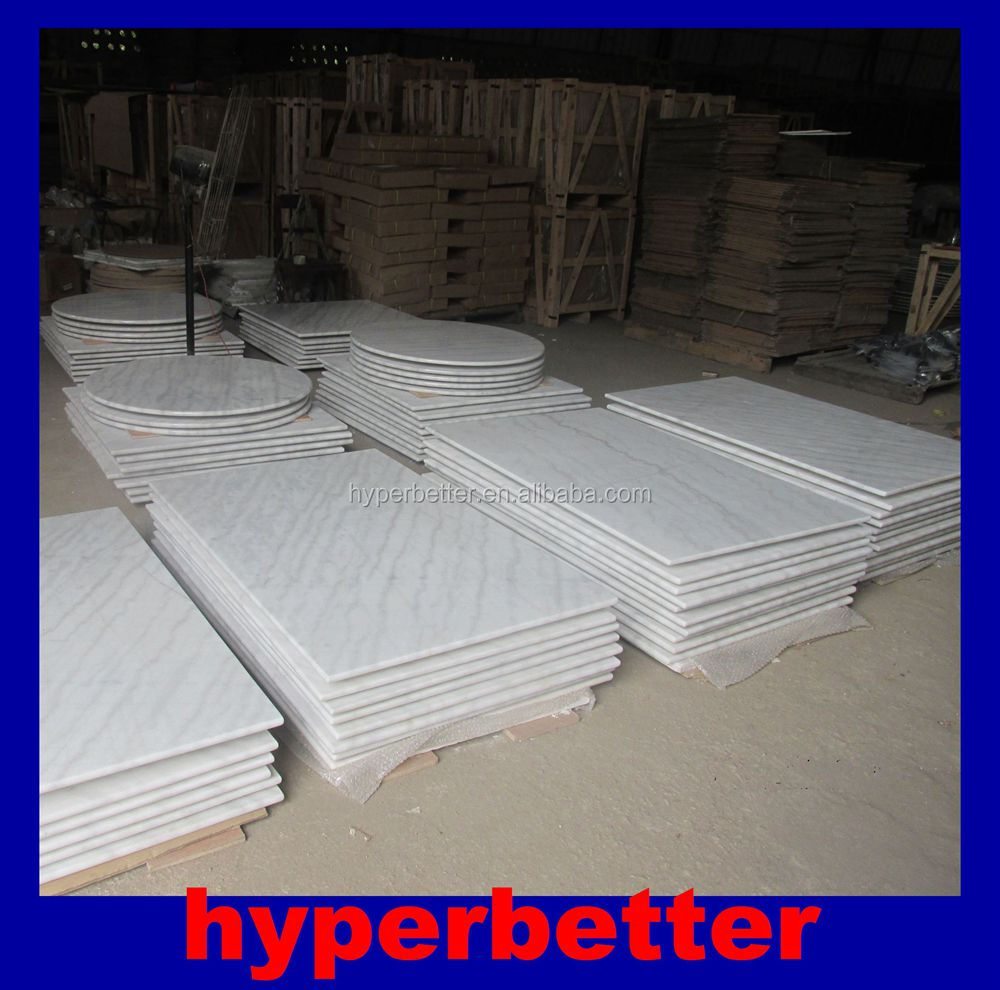 Quality Carrara White Marble Table Top Replacement