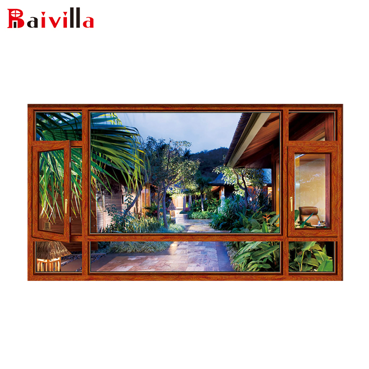 New product ideas 2018 window designs indian style aluminum casement window