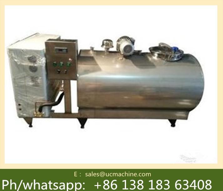 8000l Fresh Milk Cooler Tank Price Stainless Steel Milk Cooler ...