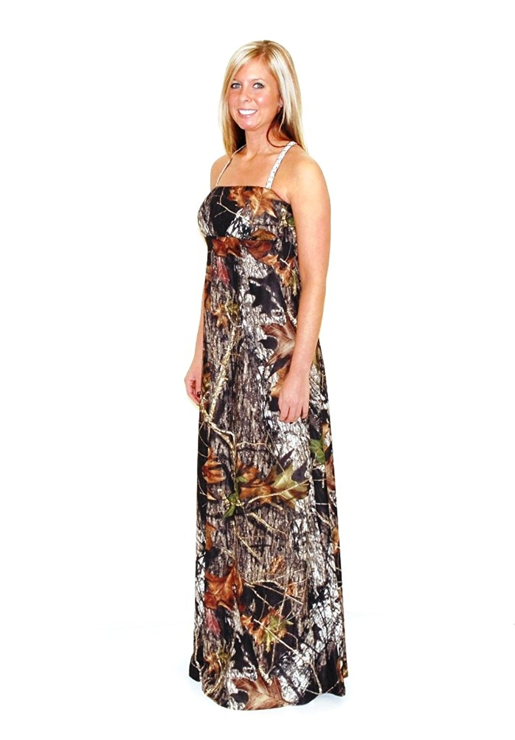Camouflage Prom Dresses a Line