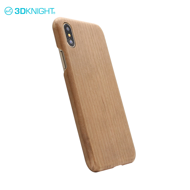 Real cherry wood custom print uv 3d luxury resistant for iphone case 2017 phone cover