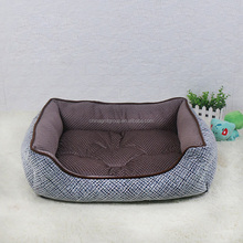 GMT06066 Dropshipping New Products For Pets Indoor Tweed Pet Pads Linen Grey Dog Bed Custom Design