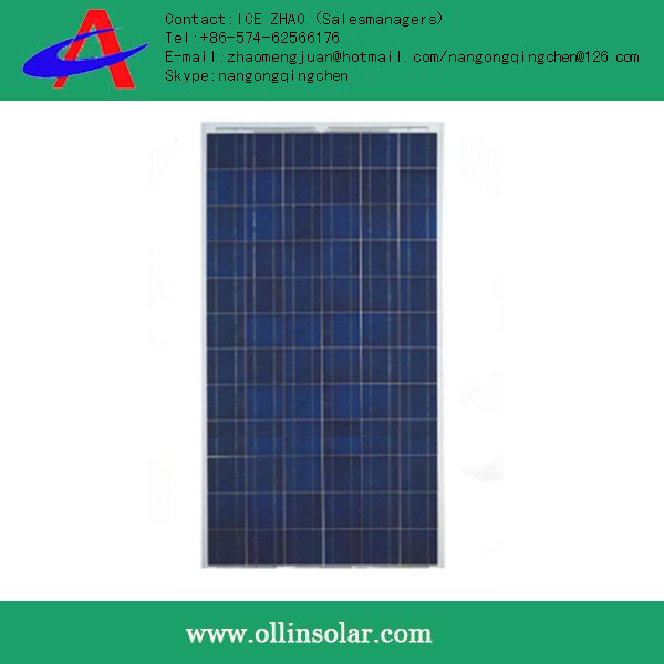 inexpensive 110w poly solar CELL panels made in china