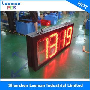 electronic calendar day date display battery clock