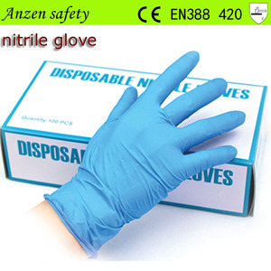 powder free disposable colored 9 mil nitrile gloves factory
