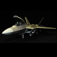 F22 Fighter Model for Military and Aircraft