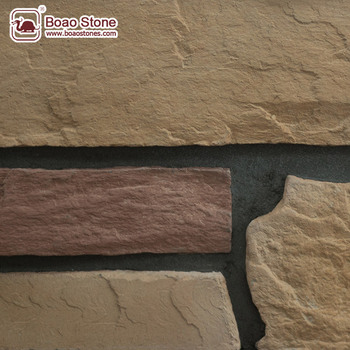 Grey Ledge Wall Stone And Faux Stone Shower Wall Panel - Buy Faux ...