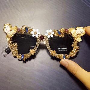 d6b5c79fff04 2017 Fashion Round Unique Sunglasses New Trend Frame Sun Glasses Women  Accessories Simple Style