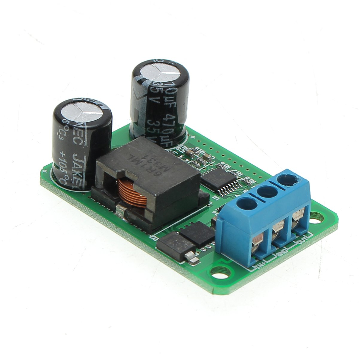 9V-35V To 5V 5A 25W DC-DC Buck Synchronous Rectification Step Down Power Supply Converter Module