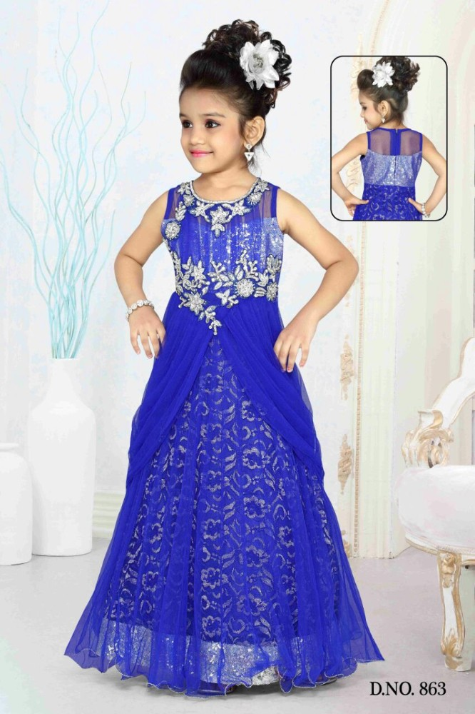 Eid Special Western Style Indian Lehenga Dress For Girls - Buy ...