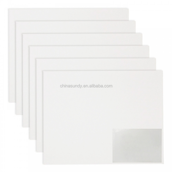 9*12'' OF 12PCS/SET thickness flat  Canvas Panel
