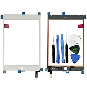 BisLinks® Brand New White Touch Screen Digitizer Glass + Tools For Apple iPad Mini 4