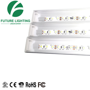 LED linear light magnet installation Aluminum profile surface mounting with led strip light SMD3528 60 leds/m