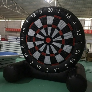Cheap inflatable football dart for sports/customized inflatable soccer dart board /China high quality football dart game
