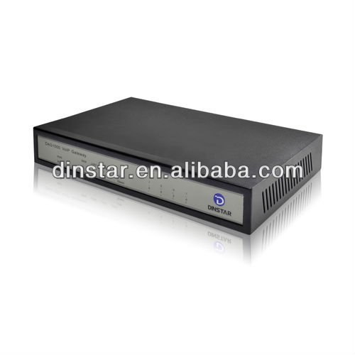 4 ports connect ip phone FXS voip gateway