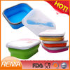 RENJIA food grade plastic container,collapsible silicon food storage container,silicone mask bowl