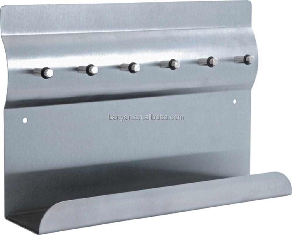 Fabriek groothandel roestvrij staal magnetisch memobord met