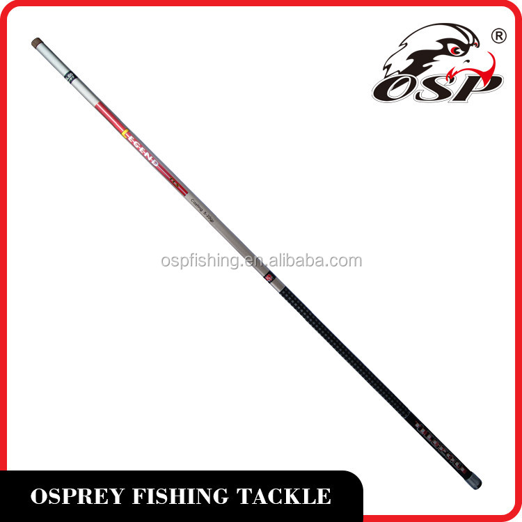 Outdoor sports spinning carbon fiber fishing rod factory sale