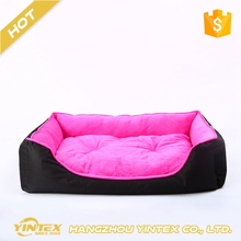 Hot sale colored standard soft removable hypoallergenic fashion luxury eco-friendly dog bed
