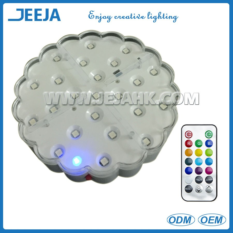 Battery Operated Wedding 15cm Glass Chandelier Table Centerpiece ...