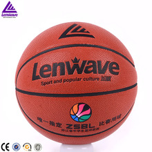 Indoor game basketball ball official size 6 women cheap custom leather basketballs
