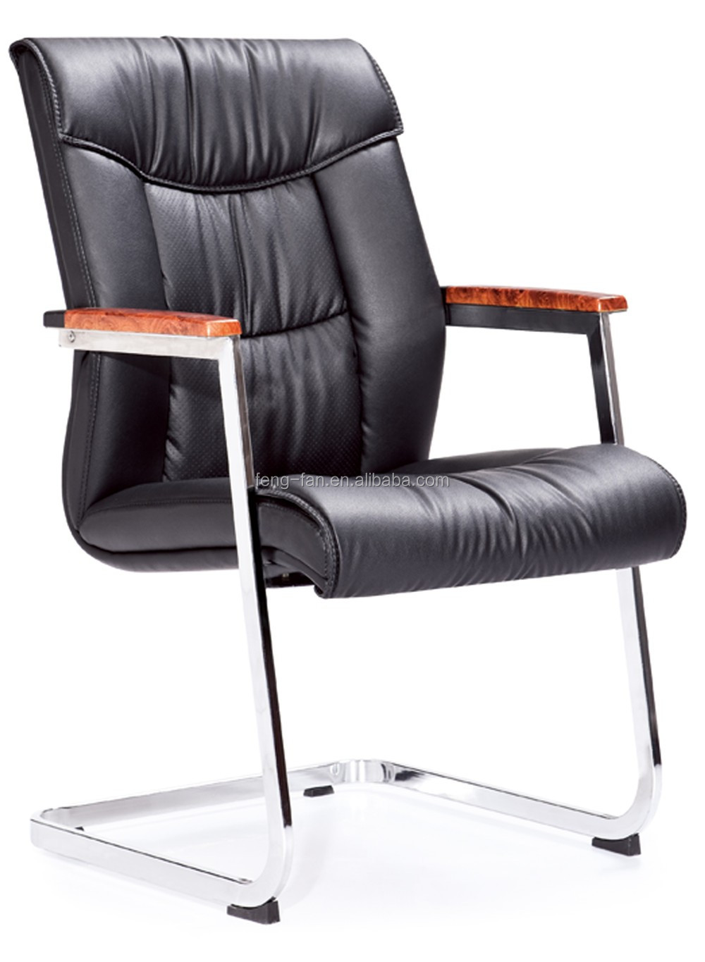 Simple leather meeting room chairs design office chair 6225