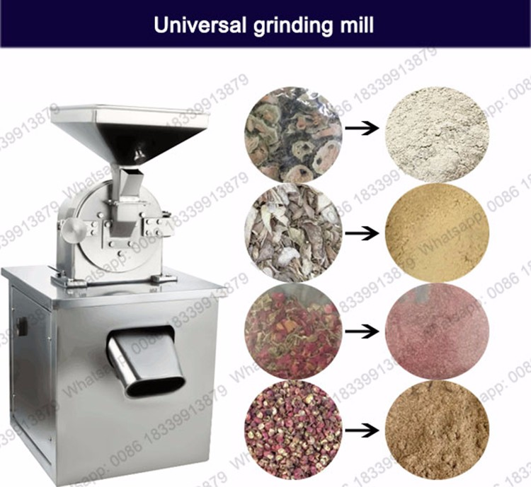 BAT-600B Industrial cassava salt pepper grinding machine