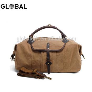 0c81d97543 Custom Canvas Duffel bag Men Travel Bag