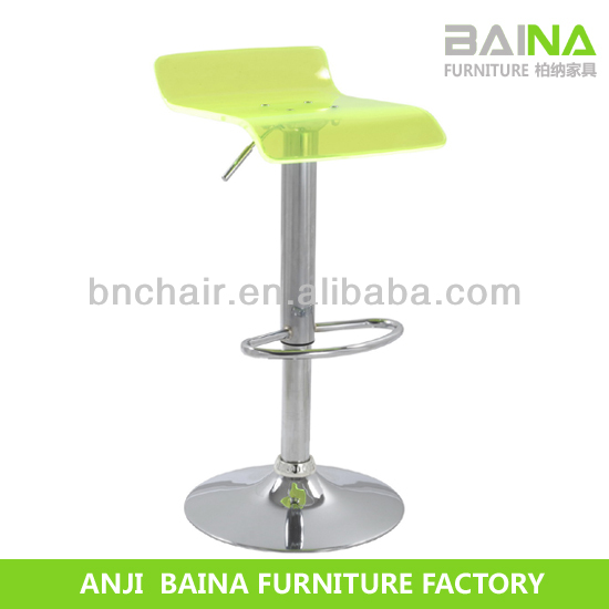 Alibaba hot sale acrylic bar chair swivel