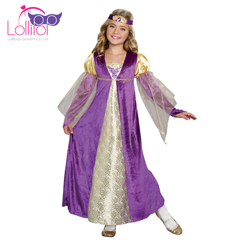 Professional custom halloween costumes royal princess medieval fancy dress