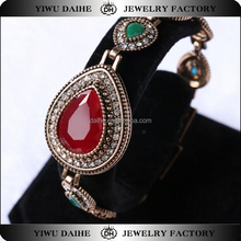 Daihe turkish style fashion bracelet with chain