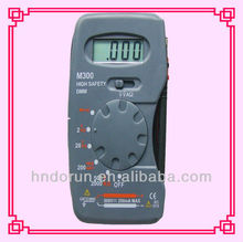 Pocket Size Digital Multimeter M300 with Diode Test
