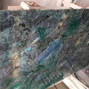 Labradorite blue granite slab price for big slabs and flooring tiles