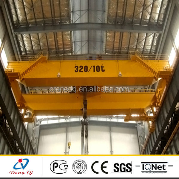 China top supplier Indoor steel factory 50ton overhead crane price