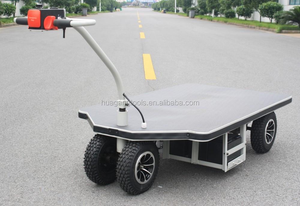 Electric Platform Hand Truck With Flexible Handle Buy