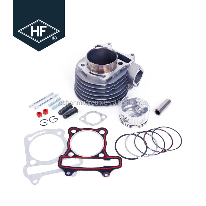 Scooter Parts Engine 172cc 61mm Cylinder Kit For 150cc Gy6 152QMJ 157QMJ