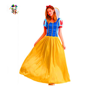 Quality Cosplay Party Fancy Snow White Adult Costumes HPC-3161