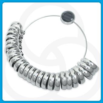 Ring Size Wedding H-z & 1-6 - Buy Wide Band Ring Sizer,Ring Sizer ...