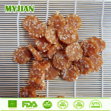 dry food chicken with rice circular chip dog treats factory wholesale healthy dog snack all breeds