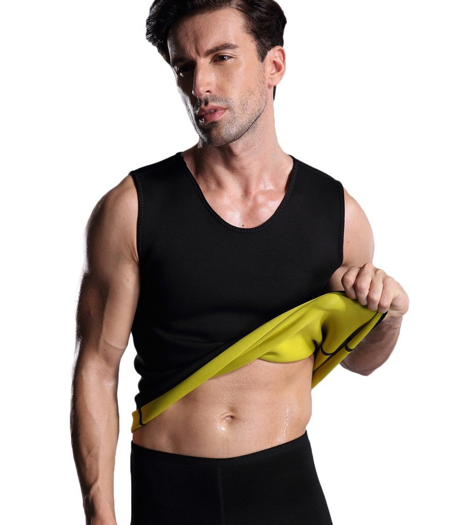 4ac0092465 Get Quotations · ValentinA Mens Hot Thermo Body Shaper